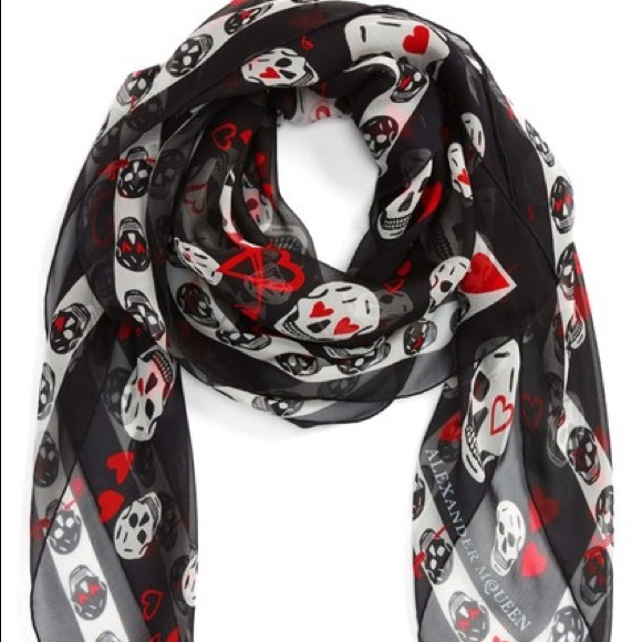 Alexander McQueen Scarves for Men And Women